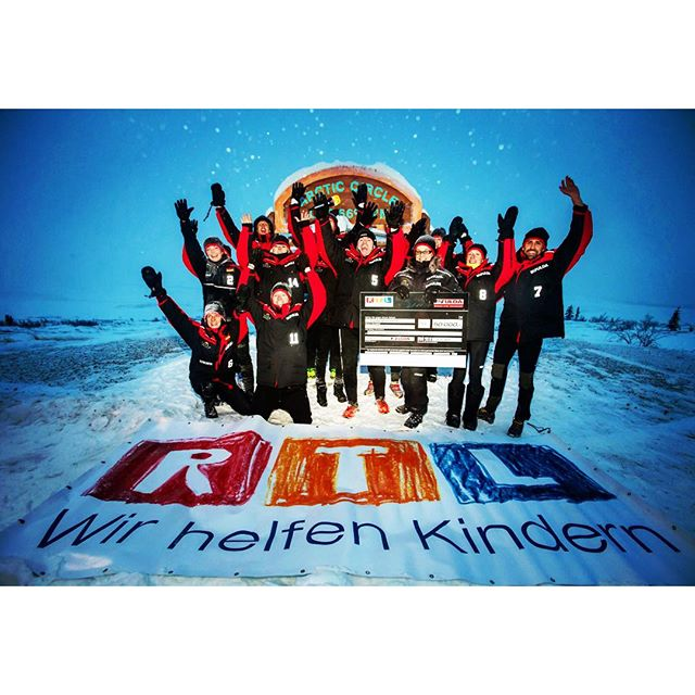 Nice memory to the #fuldachallenge 2013 ...doing some charity for #RTL  at the #arcticcircle  #arctic #challenge in #Yukon ..