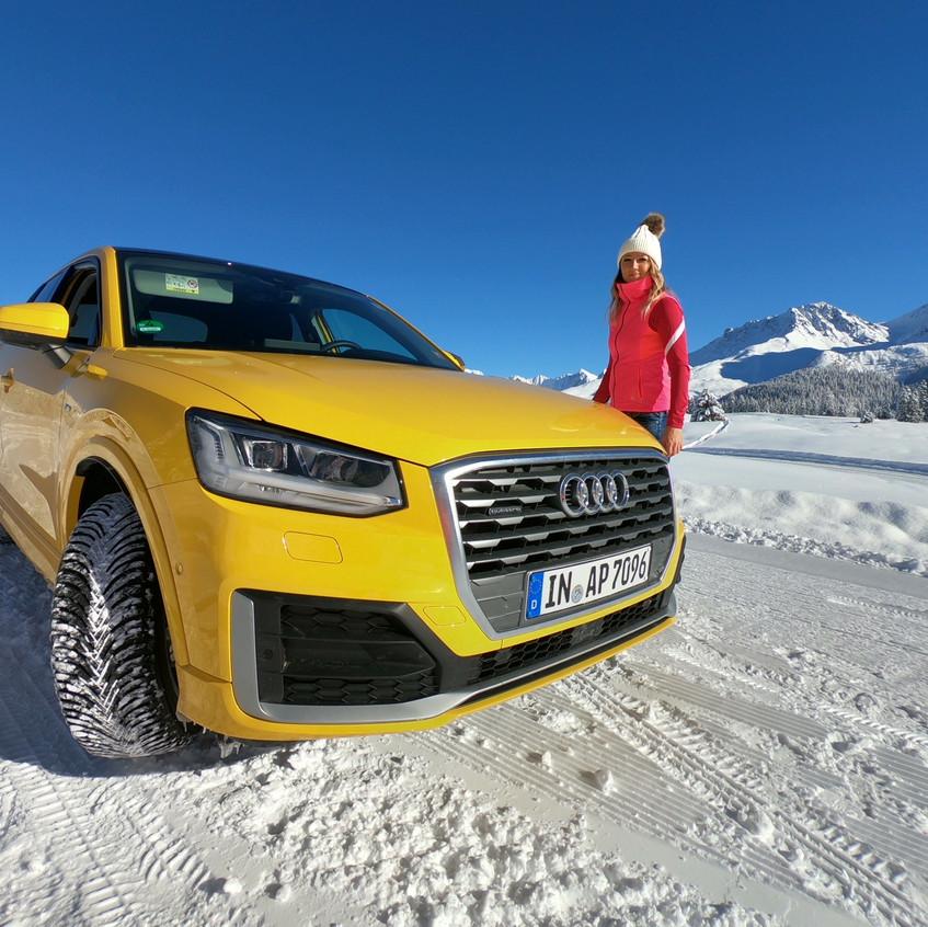 Audi Q2 on tour