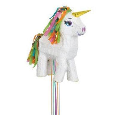 Pinata 3D White Unicorn
