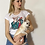 Thumbnail: T-shrit DONNA COMFORT -CHIHUAHUA MON AMOUR