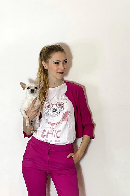T-shrit DONNA COMFORT -CHIHUAHUA CHIC