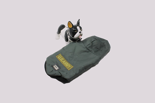 Piumino Bulldog Francese - US ARMY