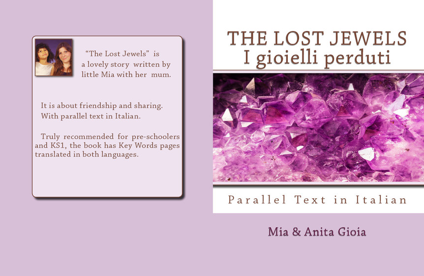 PDF - DIGITALLY ILLUSTRATED BOOK FOR CHILDREN IN ENGLISH/ITALIAN - LOST JEWELS £8