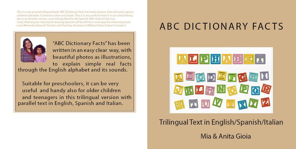 PDF - PHOTO ILLUSTRATED ABC FOR CHILDREN IN ENGLISH/SPANISH/ITALIAN £25