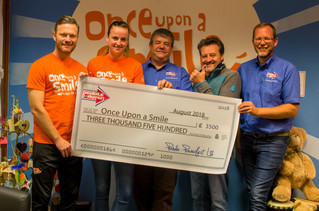£3500 Donation made to OUAS