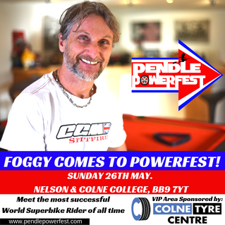 FOGGY TO ATTEND POWERFEST!