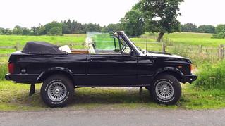 Queen Drummer Roger Taylor's Convertible Range Rover