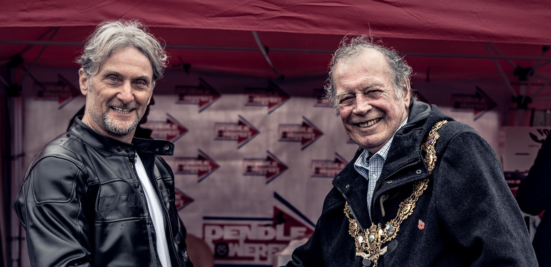 Tom Benson - Foggy meets the Mayor.jpg