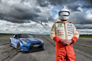 Blind Land Speed Record Holder Mike Newman