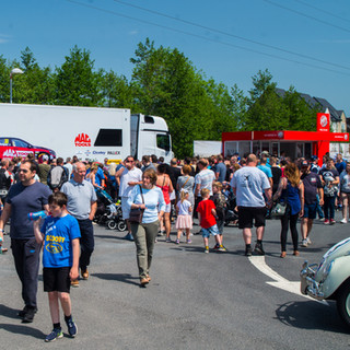 Crowds gather at the Ciceley Motorsport Stand.jpg