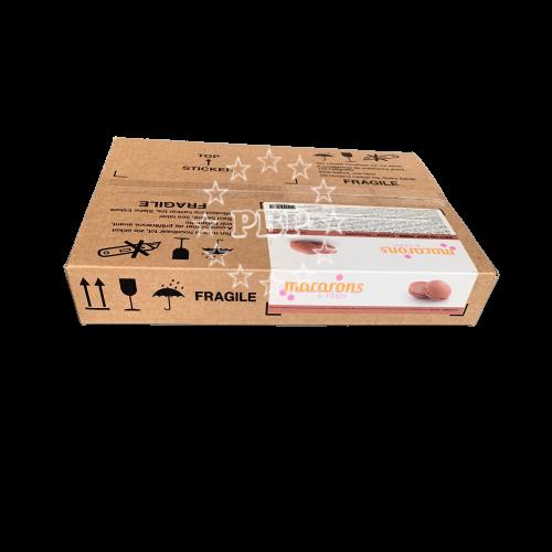 COQUE MACARON CHOCOLAT MDP 220PC