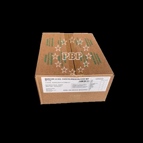COPEAUX CHOCOLAT BLANC M&C 2.5KG