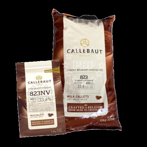 CHOCOLAT LAIT 823 CALLETS CALLEBAUT 2.5KG - 10KG