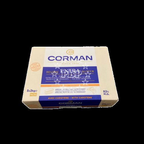 BEURRE AMBIANCE CHAUDE 82% CORMAN 5X2KG