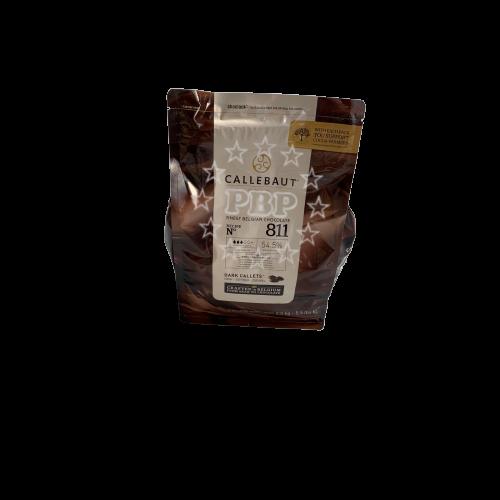CHOCOLAT NOIR 811 CALLETS CALLEBAUT 2.5KG