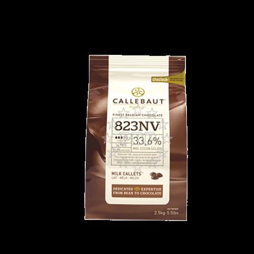CHOCOLAT LAIT 823 CALLETS CALLEBAUT 2.5KG