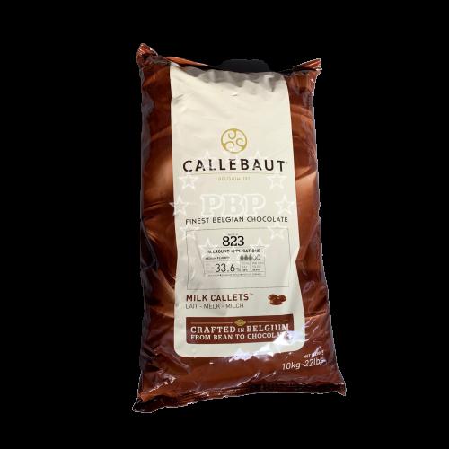 CHOCOLAT LAIT 823 CALLETS CALLEBAUT 10KG