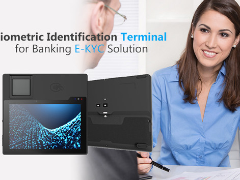 Biometric Identification Terminal for Banking E-KYC Solution