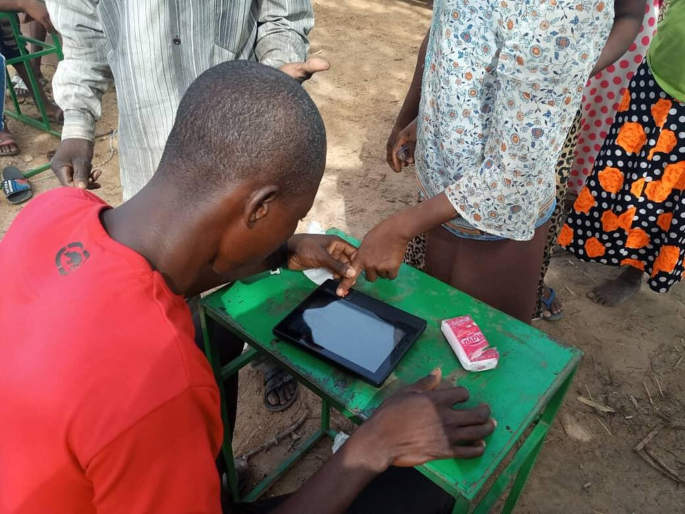 biometric terminals for biometric registration