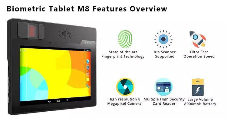 biometric fingerprint tablet