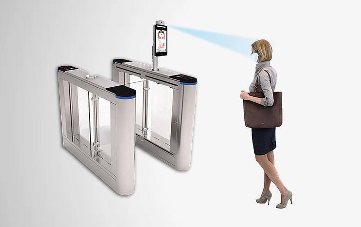 contactless biometric facial recognition terminal