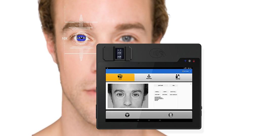 Iris Biometric Scanner