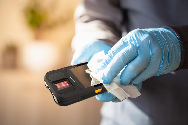mobile handheld biometric terminals