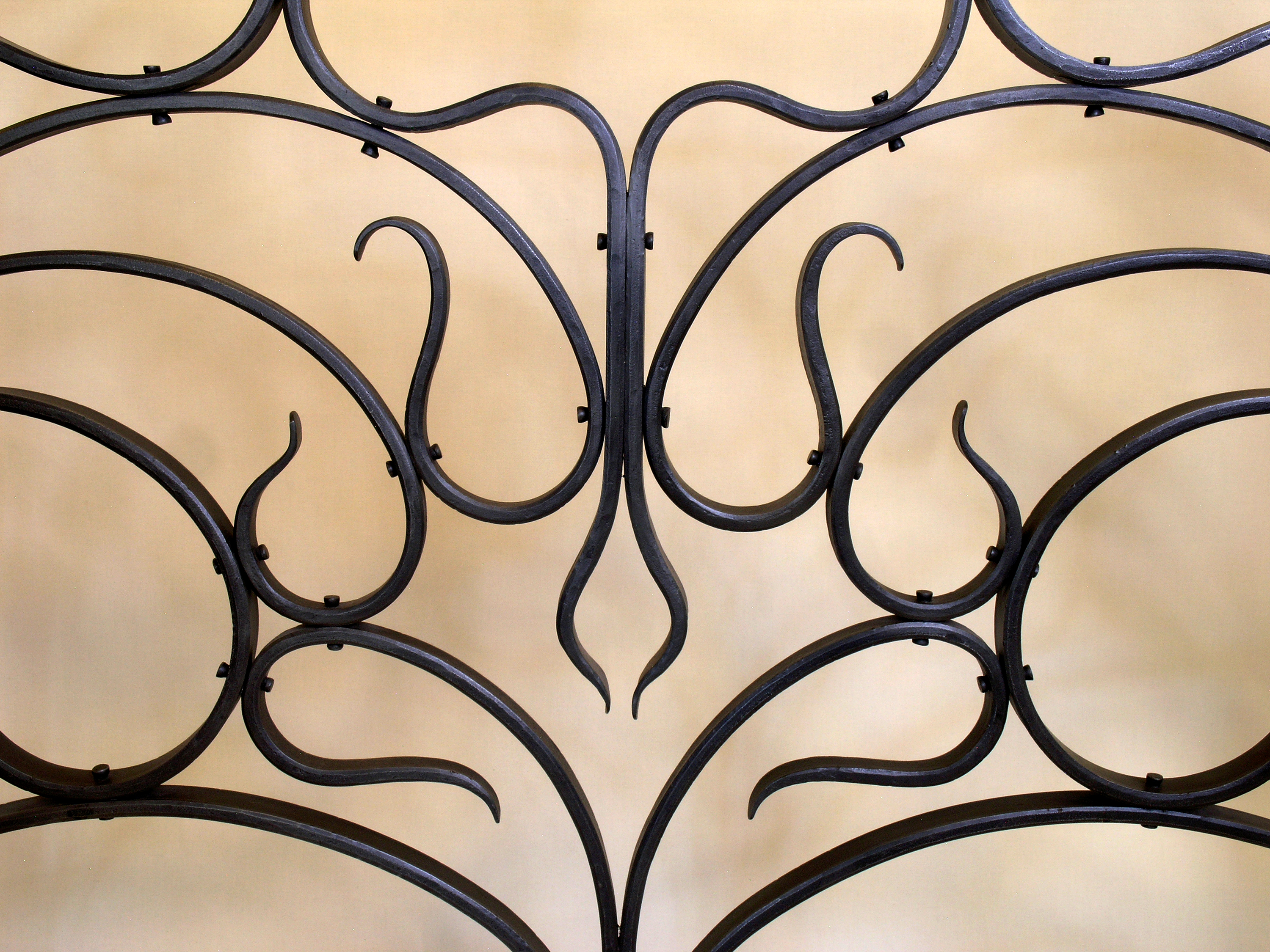 Horta inspired firescreen detail