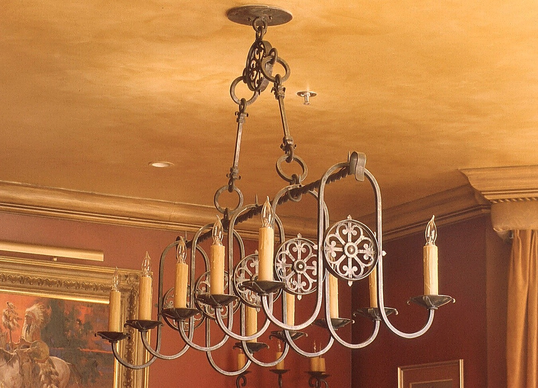 Iberian chandelier