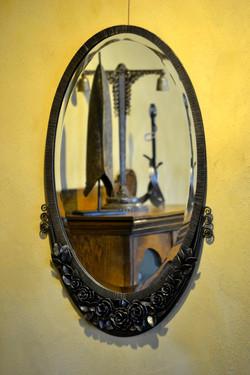 rose blossom mirror
