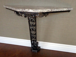 ginkgo leaf console table