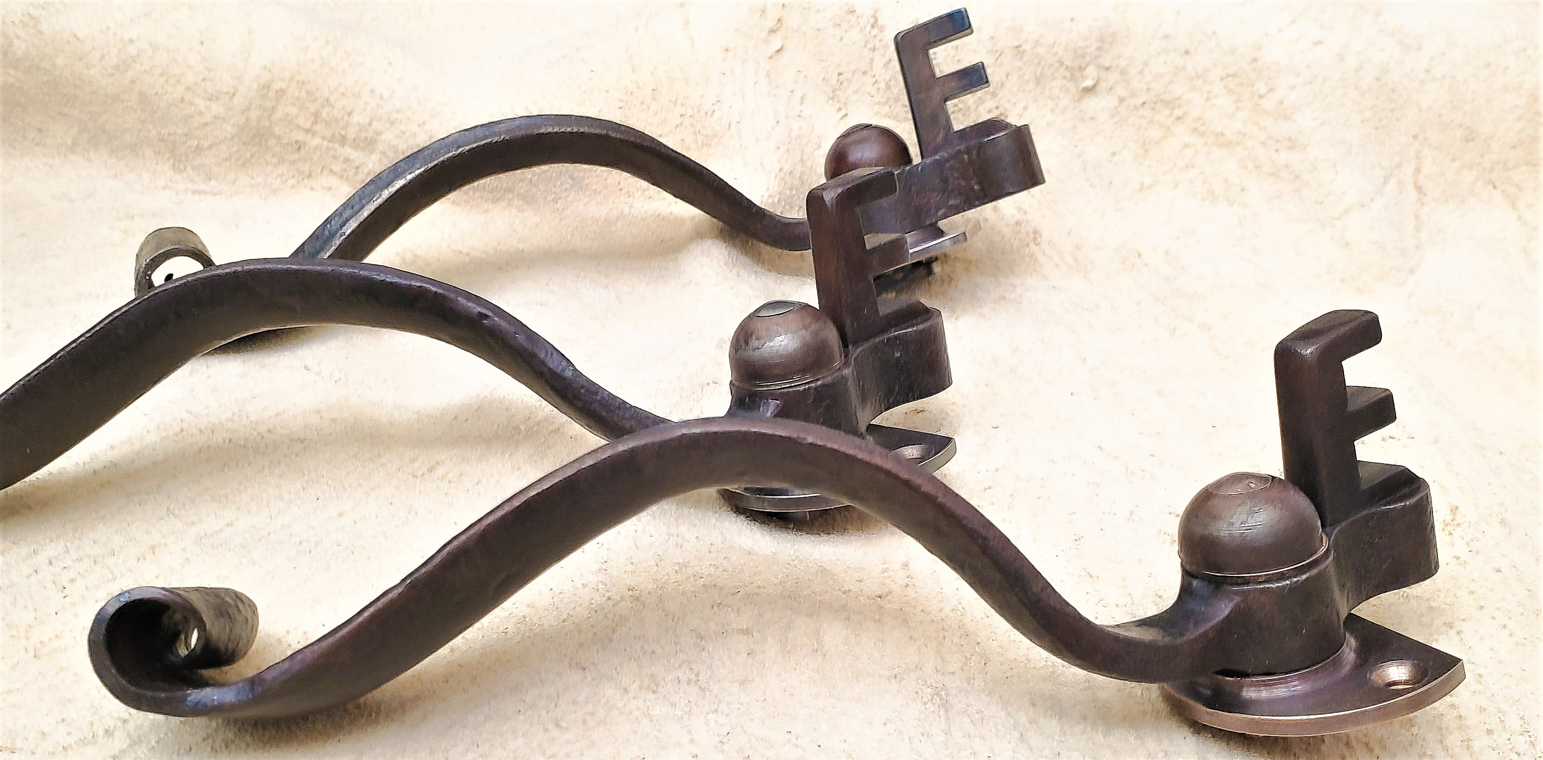 Replica of early 20th century Hope's window latch