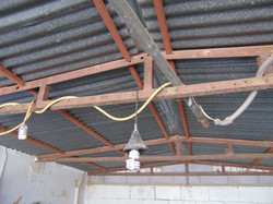 Extension cord to wired electrical