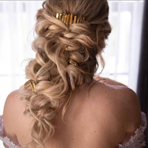 Curly Braid Hair