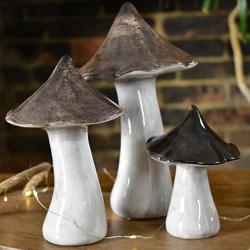 Small Ceramic Mushroom