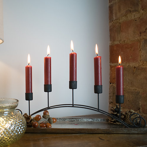 Arched Candle Holder