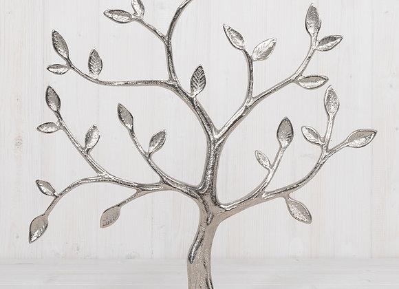 Metal Tree of Life on Mango Wood Base