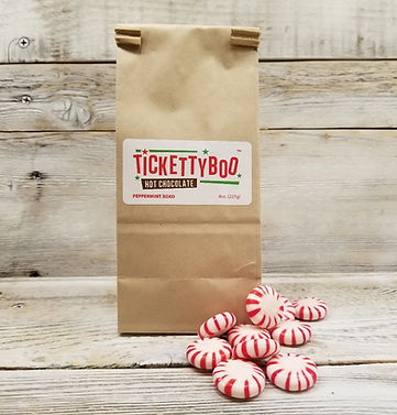 Tickettyboo Peppermint XOXO Hot Chocolate