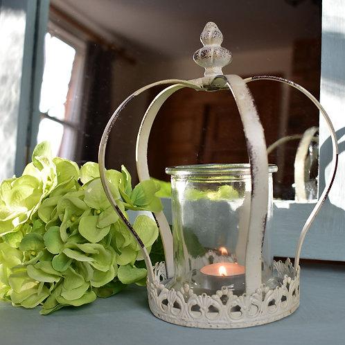 Vintage Feel Crown Tealight Holder