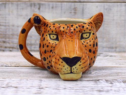 Big Cat Cheetah Mug