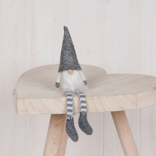 Grey Textile Gnome