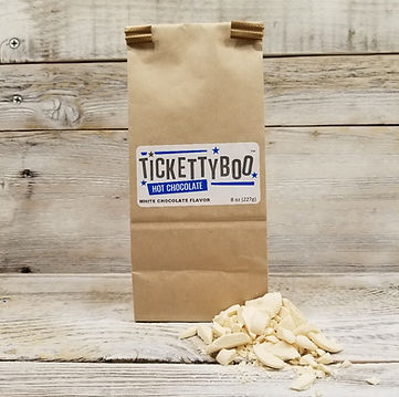 Tickettybo White Chocolate Flavor