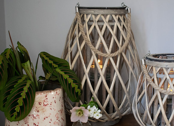 Willow Lanterns in Natural