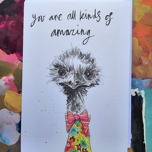 You're Amazing Greetings Card
