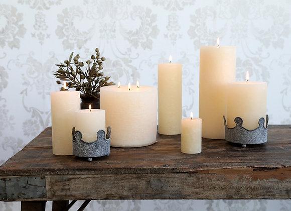 Cream Pillar Candles