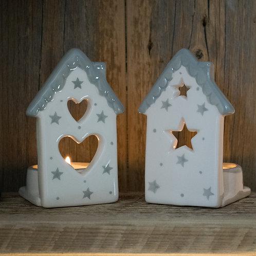 Ceramic Tealights for Christmas