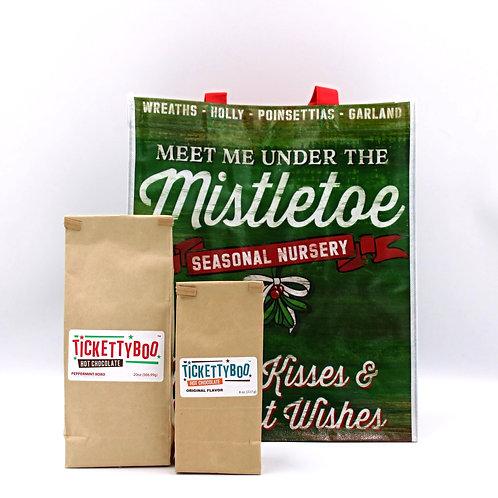 Mistletoe Gift Bundle Tote