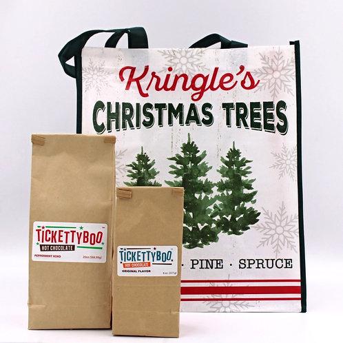 Kringle's Trees Gift Bundle Tote