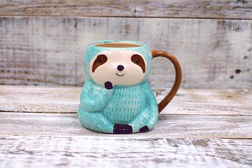 Blue Sloth Mug