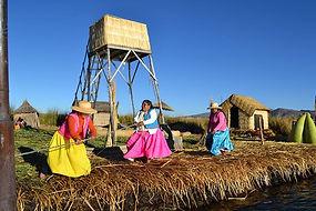 peru titikaka uros yerlileri